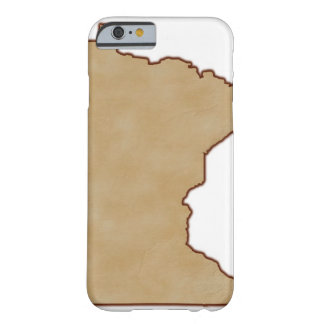 Relief Map of Minnesota Barely There iPhone 6 Case