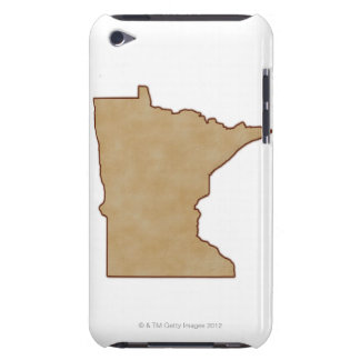 Relief Map of Minnesota Barely There iPod Cases