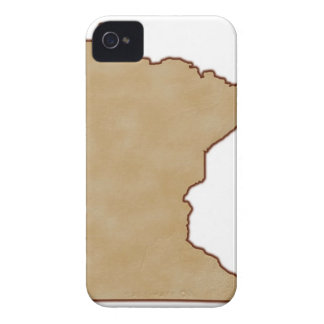 Relief Map of Minnesota Case-Mate iPhone 4 Case