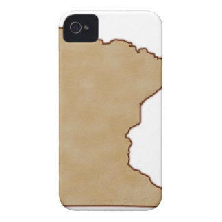 Relief Map of Minnesota Case-Mate iPhone 4 Cases