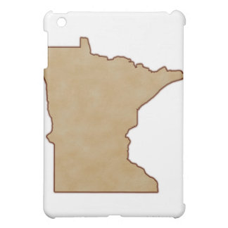 Relief Map of Minnesota Cover For The iPad Mini