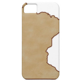 Relief Map of Minnesota iPhone 5 Covers