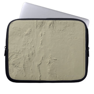 Relief Map of New Mexico Laptop Sleeve