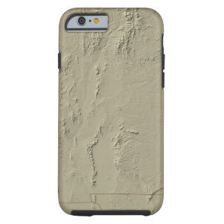 Relief Map of New Mexico Tough iPhone 6 Case