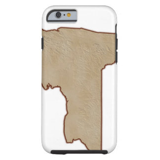 Relief Map of New York State Tough iPhone 6 Case