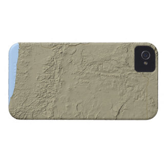Relief Map of Oregon iPhone 4 Case-Mate Case