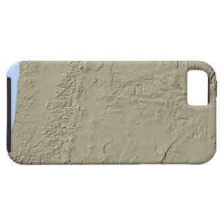 Relief Map of Oregon iPhone 5 Cover