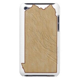 Relief Map of Pennsylvania iPod Touch Case-Mate Case