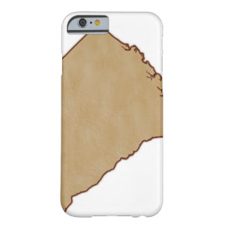 Relief Map of South Carolina Barely There iPhone 6 Case