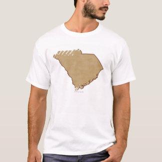 Relief Map of South Carolina T-Shirt