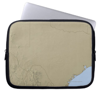 Relief Map of Texas 2 Laptop Computer Sleeves