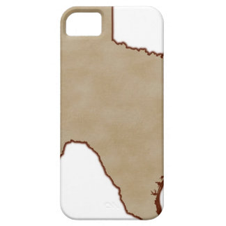 Relief Map of Texas Case For The iPhone 5