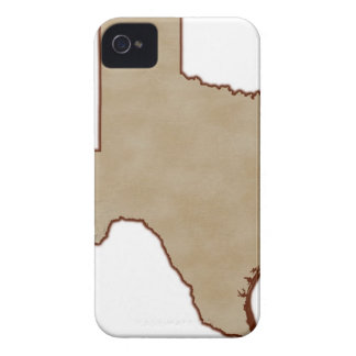 Relief Map of Texas iPhone 4 Cover