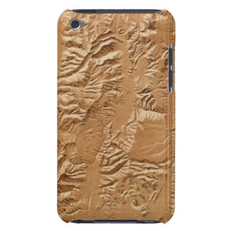 Relief map of Utah Barely There iPod Covers