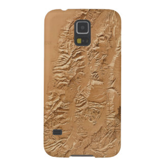 Relief map of Utah Galaxy S5 Cover