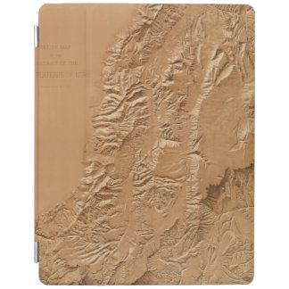 Relief map of Utah iPad Cover