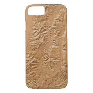 Relief map of Utah iPhone 8/7 Case
