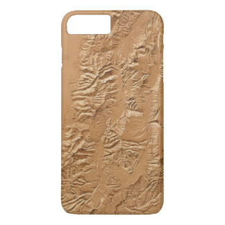 Relief map of Utah iPhone 8 Plus/7 Plus Case