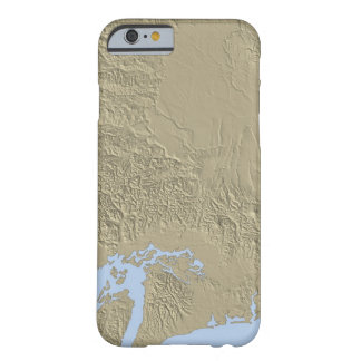 Relief Map of Washington Barely There iPhone 6 Case