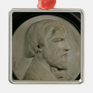 Relief medallion of Frederic Ozanam Christmas Ornament
