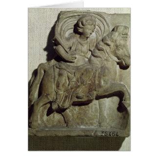 Relief of Epona, Gaulish goddess Card