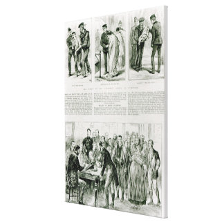 Relief of Irish Distress Canvas Print
