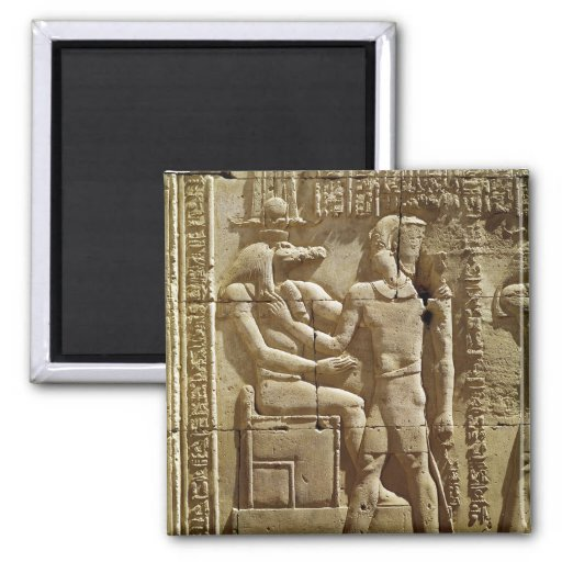 Relief of Sobek and Ptolemy VI Philometor Magnet