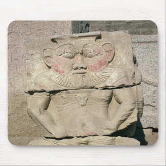 Relief of the Egyptian household god, Bes Mouse Mat