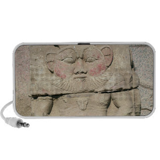 Relief of the Egyptian household god, Bes Travel Speakers