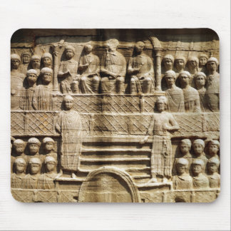 Relief on the base of the Obelisk of Theodosius Mouse Pad