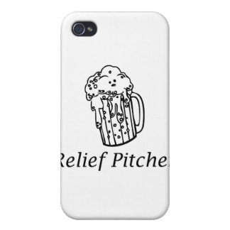 Relief Pitcher iPhone 4/4S Cover