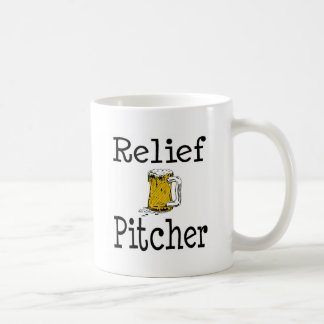 Relief Pitcher Coffee Mugs