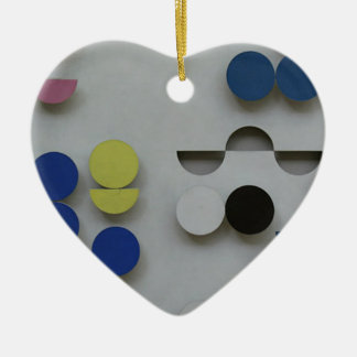 Relief rectangulaire by Sophie Taeuber-Arp Christmas Ornament