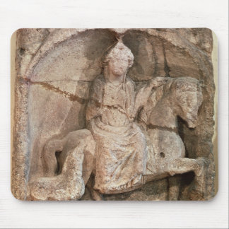 Relief representing Epona, Gaulish goddess Mouse Pad