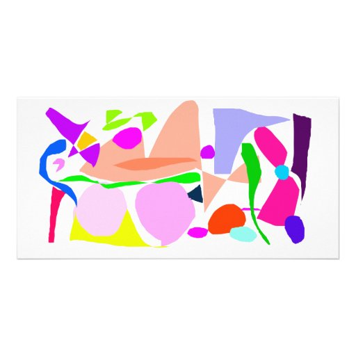 Relieving Stress Easy Living Lying on the Grass Picture Card