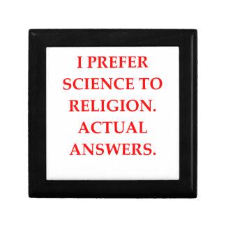 RELIGION SMALL SQUARE GIFT BOX
