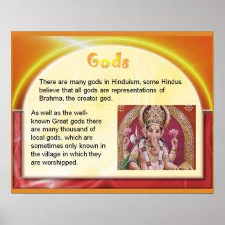 Religion, Hinduism, Hindu gods Posters