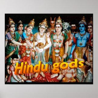 Religion, Hinduism, Hindu gods Poster