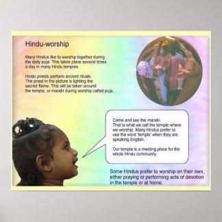 Religion Hinduism Hindu worship Poster