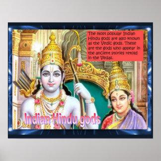Religion, Hinduism, Indian hindu gods Print