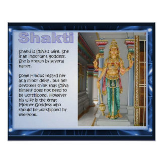 Religion Hinduism Shakti Print