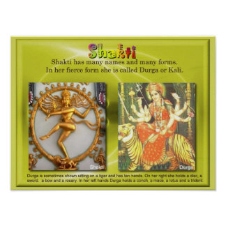 Religion, Hinduism, Shakti Print