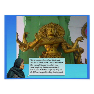 Religion Hinduism Shakti Posters