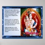 Religion, Hinduism, Worship Poster