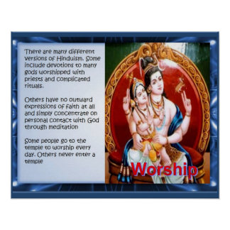 Religion, Hinduism, Worship Posters