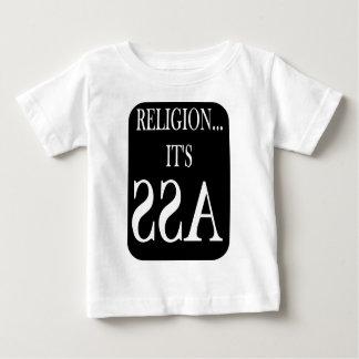 religion is backwards baby T-Shirt