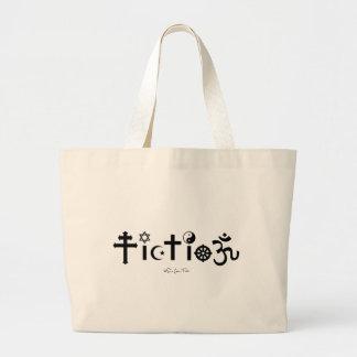 Religion is Fiction Jumbo Tote Bag