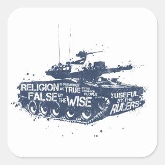 Religion is Regarded Stickers