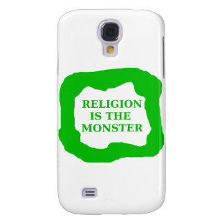 Religion is the monster .ping galaxy s4 case