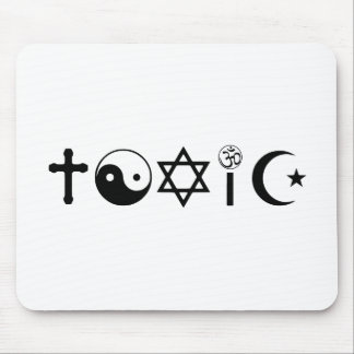 Religion Is Toxic Freethinker Mouse Pad